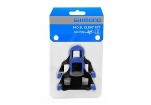 Shimano SM-SH12 SPD SL Cleat (Bleu)