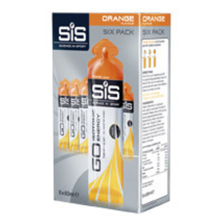 SIS (Science in Sports) SIS Go Isotonic Energiegel Sixpack (6x60ml)