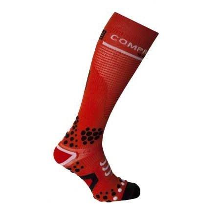 Compressport Compressport Full Socks Rood 3D. DOT (V2)