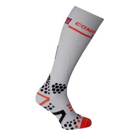 Compressport Compressport Full Socks Wit 3D. DOT (V2)