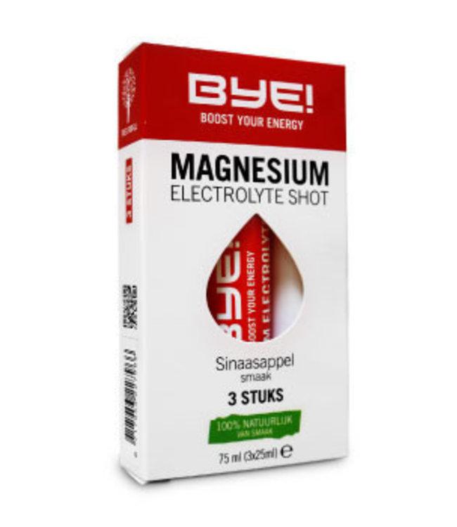 BYE! BYE!  Electrolyte Magnésium Shot(3x)