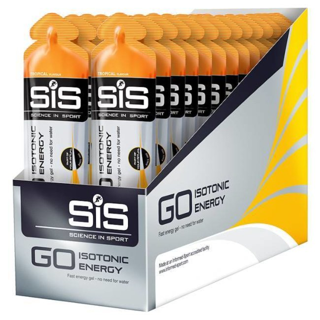 SIS (Science in Sports) SIS Isotonic Gel BOX - 30pieces