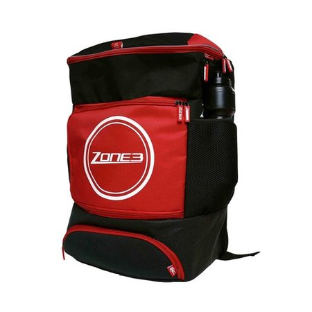Zone3 Zone3 Transition Back Pack - Black / Red