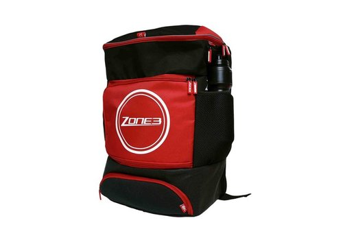 Zone3 Transition Back Pack - Zwart/Rood