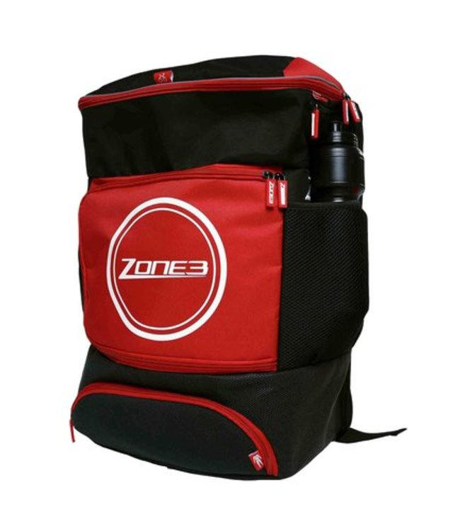 Zone3 Zone3 Transition Back Pack - Zwart/Rood