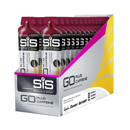SIS (Science in Sports) SIS Energy Gel Cafeine BOX - 30 pieces