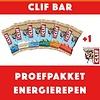 Clifbar Proefpakket Energierepen (8stuks)