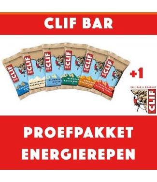 Clif Bar Clifbar Test package Barres énergétiques (8 pièces)