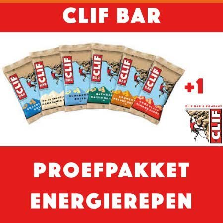 Clif Bar Clifbar Proefpakket Energierepen (8stuks)