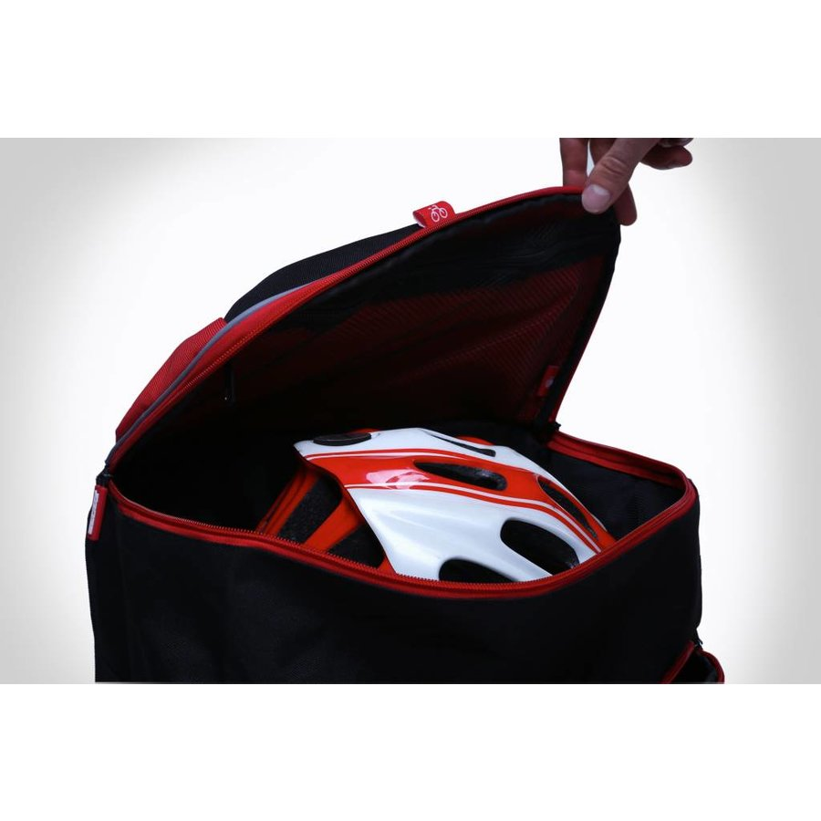 Zone3 Transition Back Pack - Black / Red