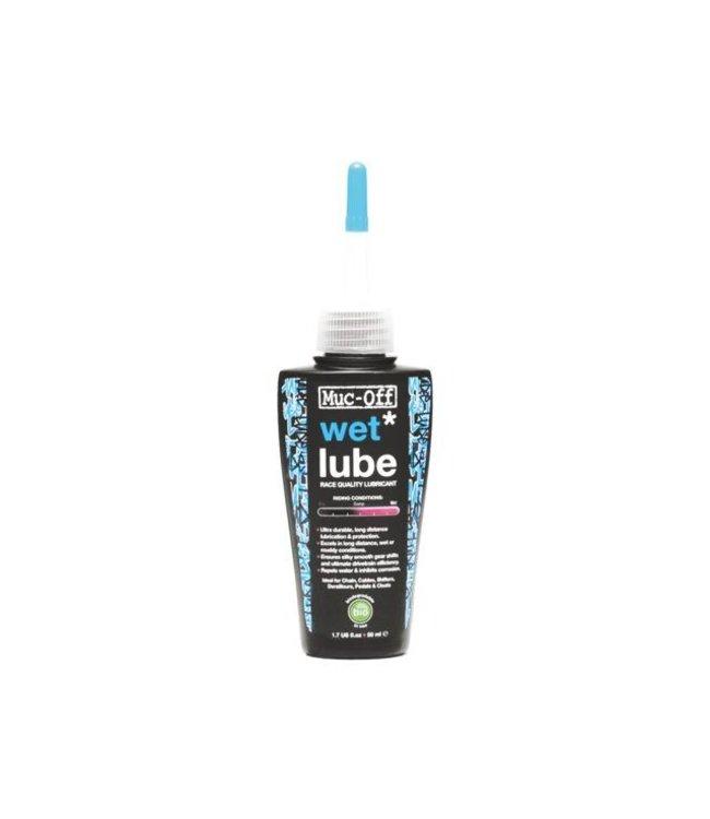 Muc-Off Huile de chaîne Muc-Off Wet Lube (50 ml)