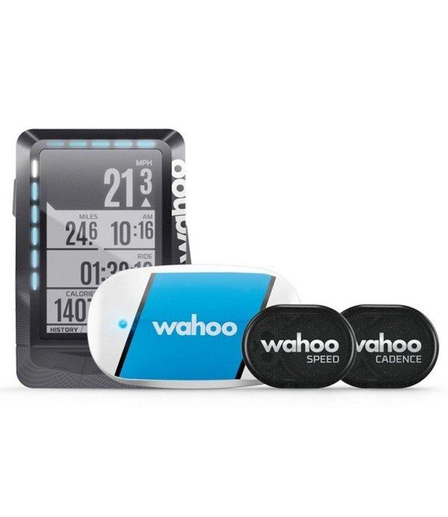 Wahoo Fitness Wahoo ELEMNT & TICKR & RPM bundle Ordinateur de vélo / Navigation à vélo