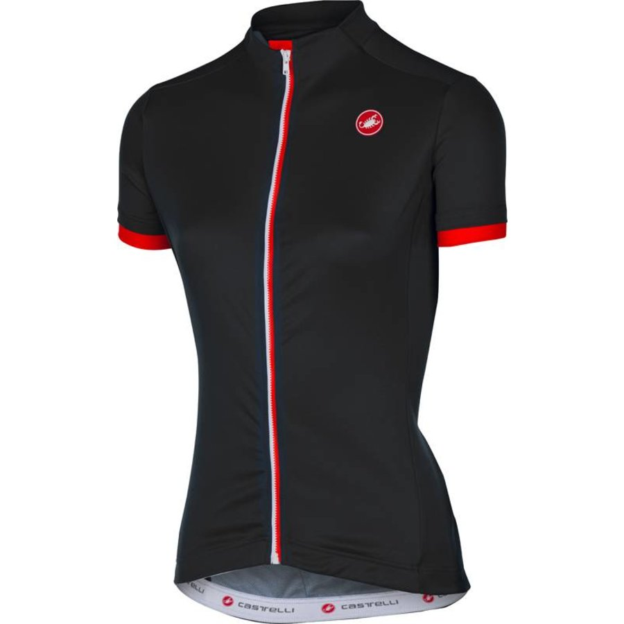 Castelli Anima Women's Cycling Jersey with short sleeves