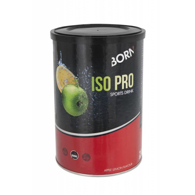 Born Born Iso Pro Sports Drink (400gr) Appel - Lemon