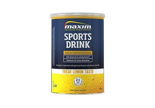 Maxim Hypotonic sports drink (480gr)