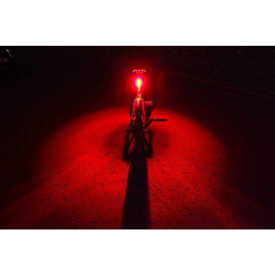 Quee Racefiets achterlicht Inox Mini-RS
