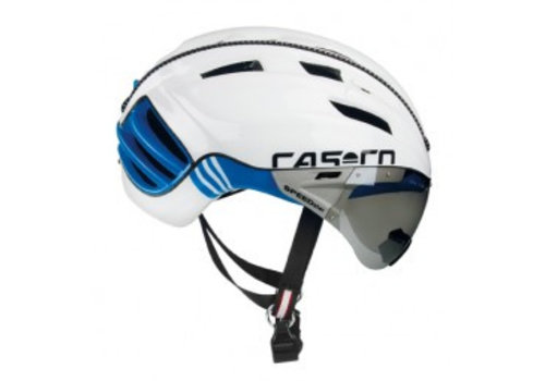 Casco SPEEDster TC Plus White/Blue Timetrial helmet