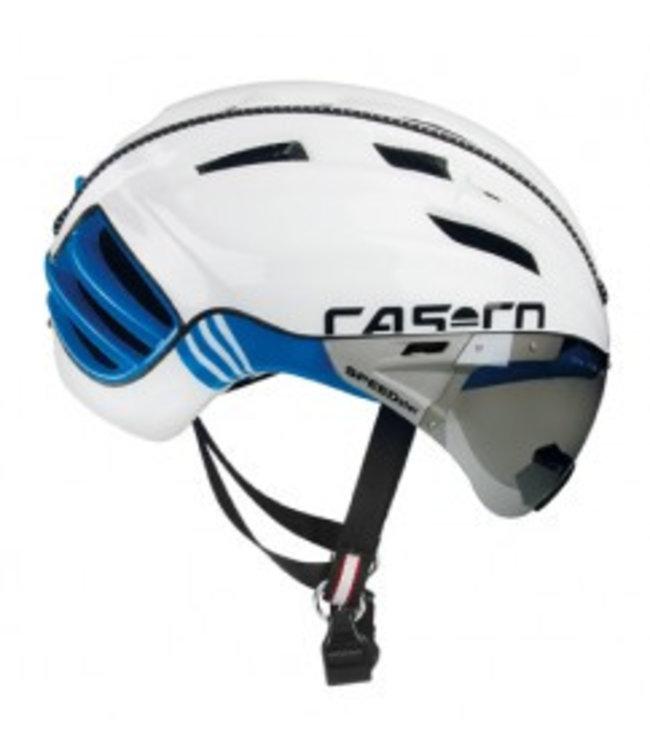 Casco Casco SPEEDster TC Plus Blanc/Bleu Casque