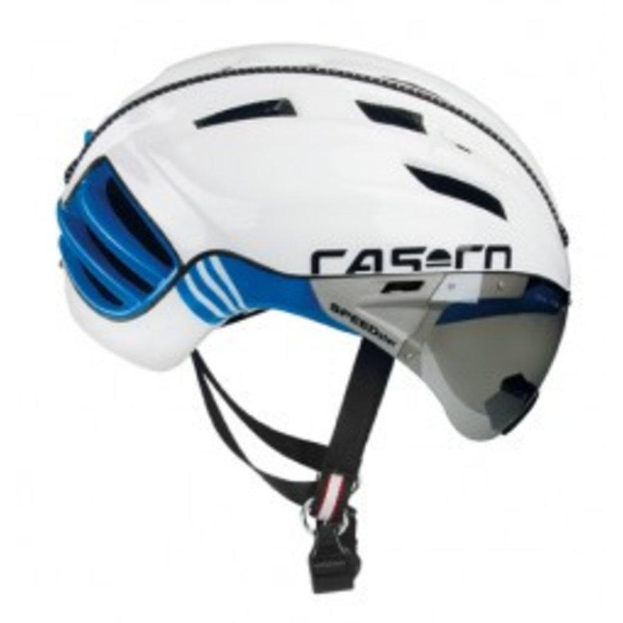 Casco SPEEDster TC Plus White/Blue Timetrial helmet