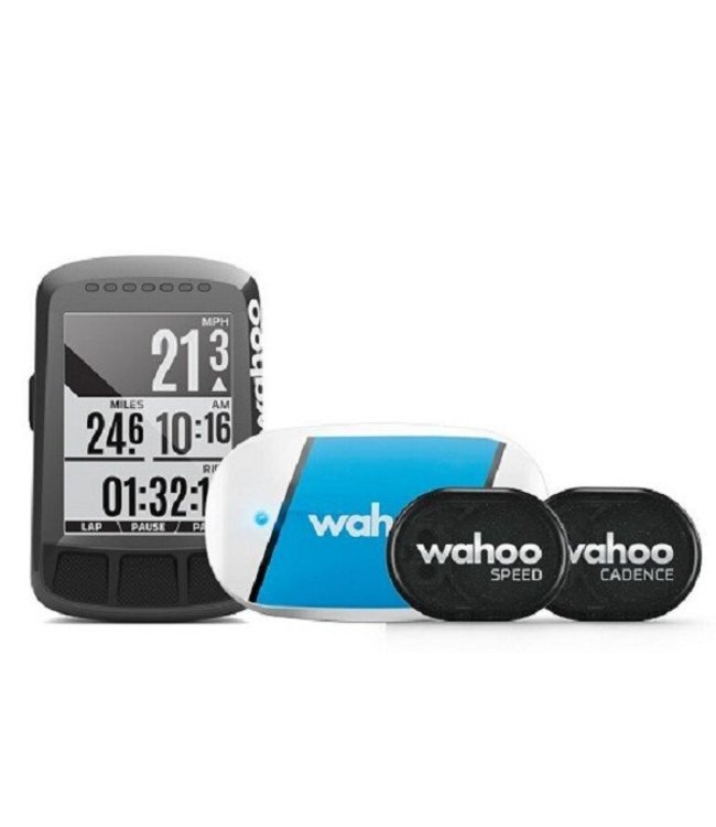 Wahoo Fitness Wahoo ELEMNT BOLT GPS Cycle Computer / Bicycle Navigation - Bundle