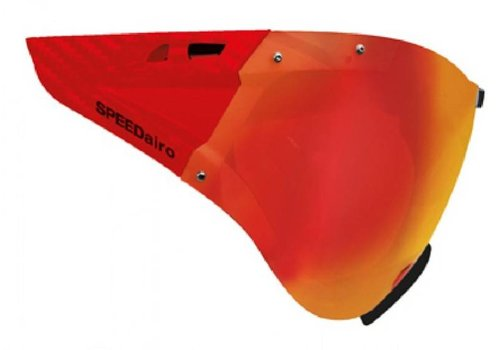 Casco Vitesse Masque Rouge Carbonate