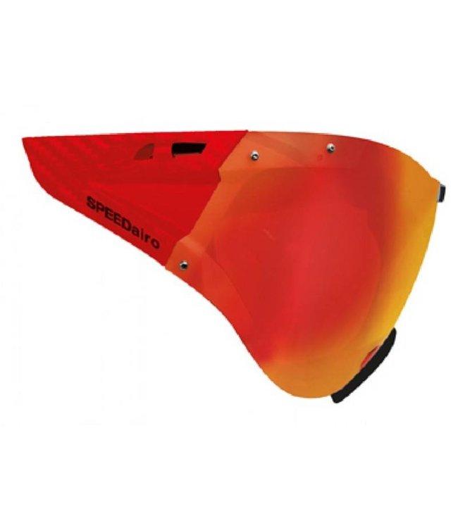 Casco Casco Vitesse Masque Rouge Carbonate