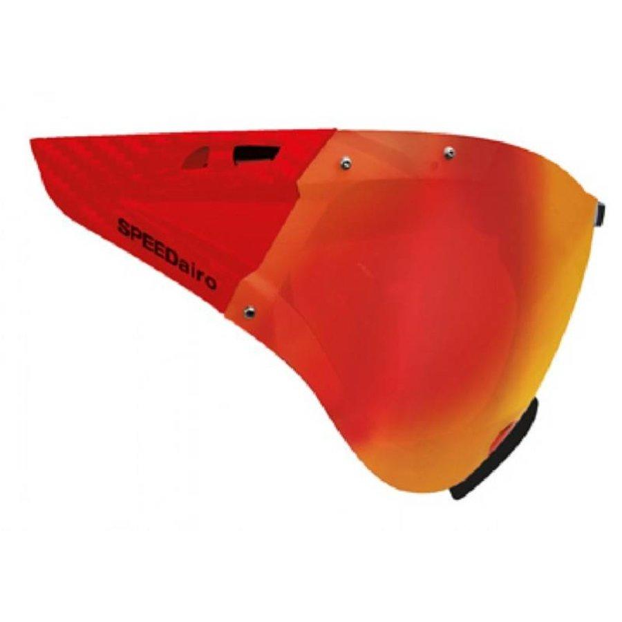 Casco Vitesse Masque Rouge Carbonate