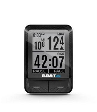 Wahoo Fitness Ordinateur de vélo Wahoo ELEMNT MINI + vitesse RPM