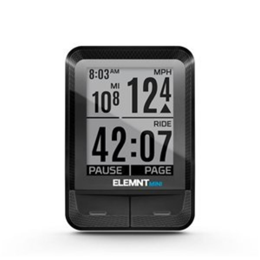 Wahoo ELEMNT MINI Bike Computer + RPM Speed-1