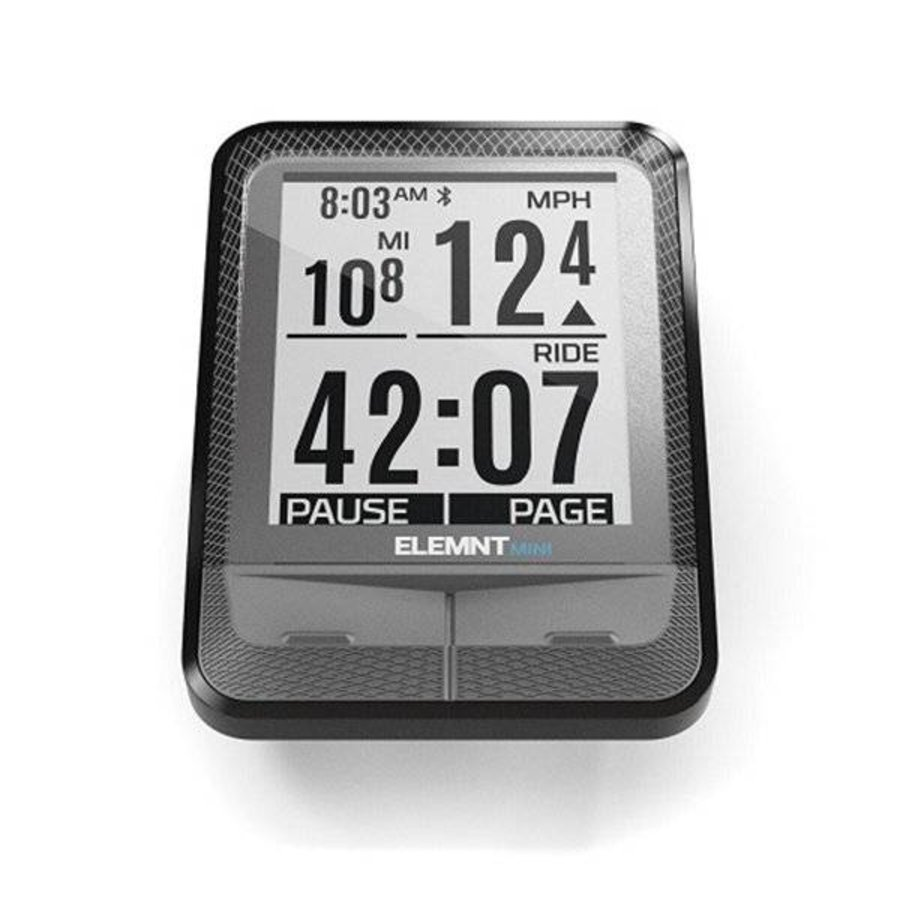 Wahoo ELEMNT MINI Bike Computer + RPM Speed-3