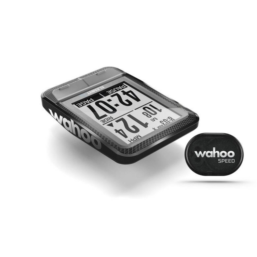 Wahoo ELEMNT MINI Bike Computer + RPM Speed-2