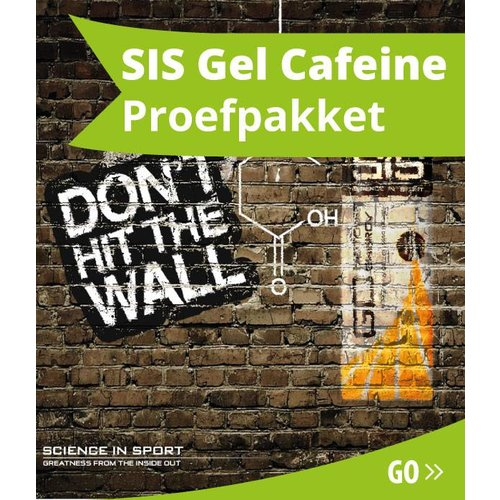 SIS (Science in Sports) SIS Energiegel Cafeine Proefpakket