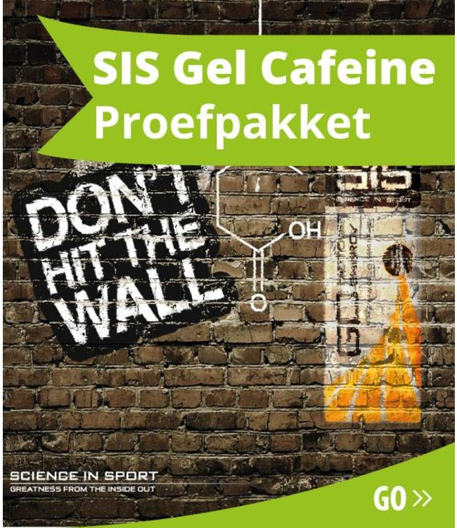 SIS (Science in Sports) SIS Energygel Cafeine Proefpakket