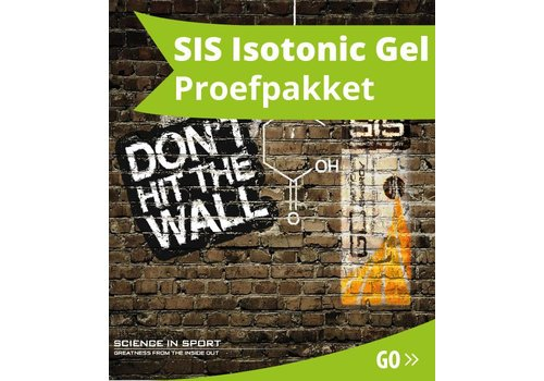 SIS Isotonic Gel Proefpakket