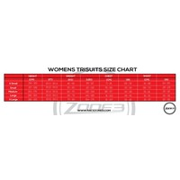 thumb-Zone3 Activate Trisuit Women (Black / Wine Red)-2