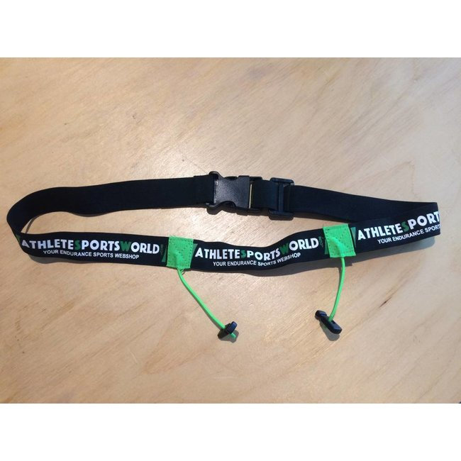 AthleteSportsWorld.com ASW Racebelt / Start number call