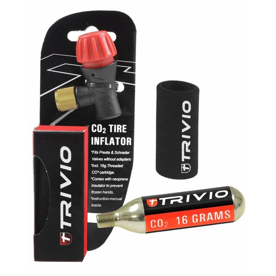 Trivio Holder avec Co2 cartridge (16gr)-2