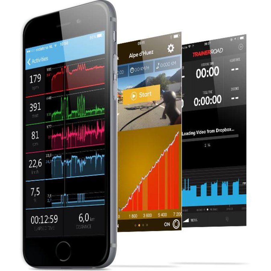 Tacx Virtual Indoor bike trainer Flux Smart-5