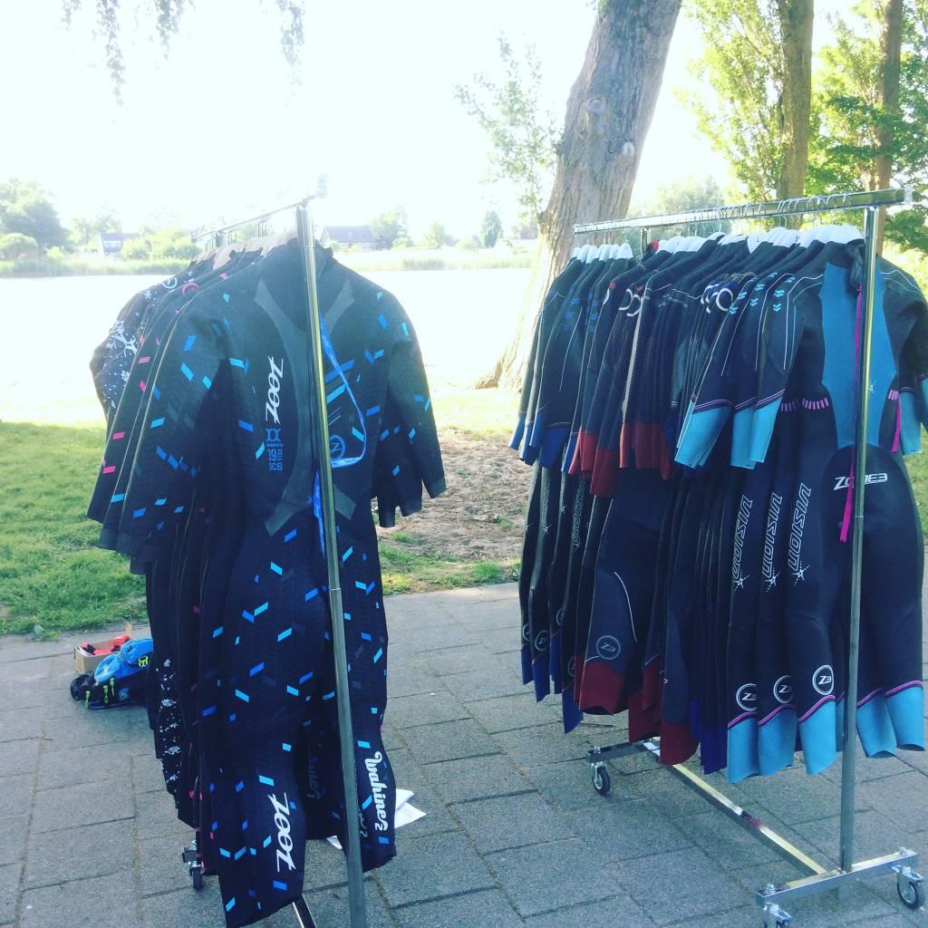 Wetsuit testing 2018