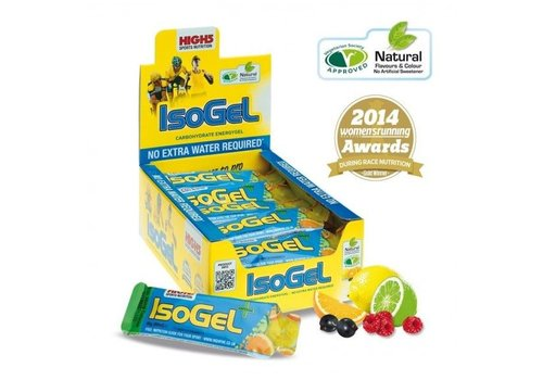 High5 Isogel Plus Cafeine BOITE (25 pieces)