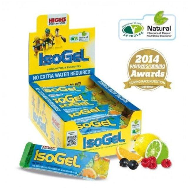 High5 High5 Isogel Plus Cafeine BOX (25 stuks)