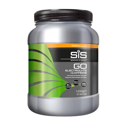 SIS (Science in Sports) SIS Go Electrolyte + Cafeine (1kg)