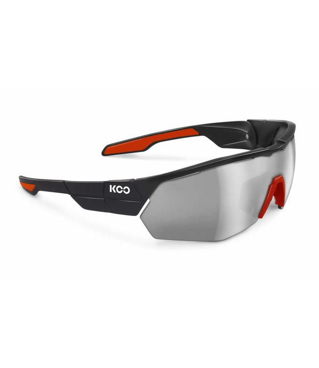 Kask Koo Lunettes de cyclisme Koo Open Cube Noir rouge