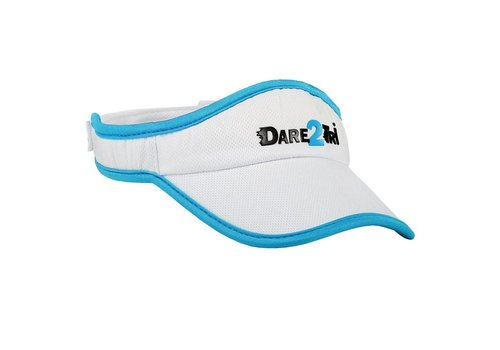 Dare2Tri Visor White Blue