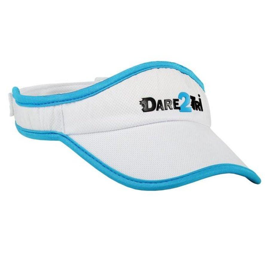 Dare2Tri Visor White Blue