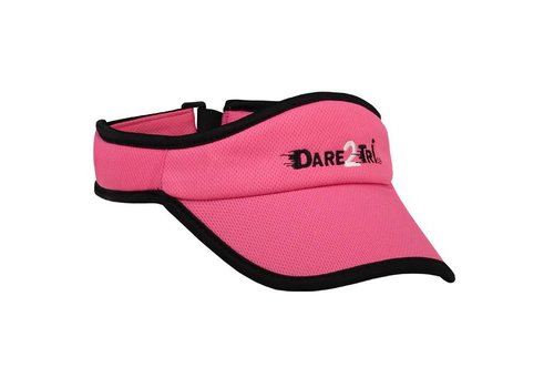 Dare2Tri Visor Pink Black