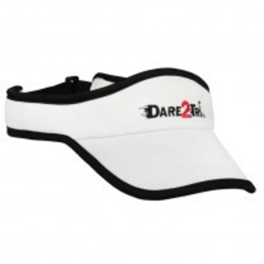 Dare2Tri Visor White Black