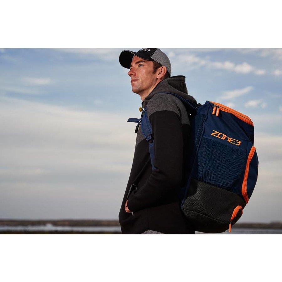 Zone3 Transition Back Pack - Blue / Orange-3