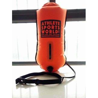 AthleteSportsWorld.com ASW Swimming Buoy - Safety bouy