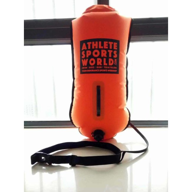 AthleteSportsWorld.com ASW Swimming Buoy - Safety bouy